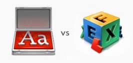 FontCase vs Font Explorer X Pro