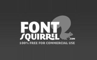 fontsquirrel.com logo