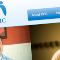 People's Health Clinic Website screenshot