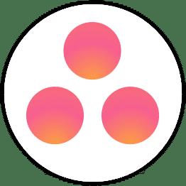 new asana logo for fluid app spigot design